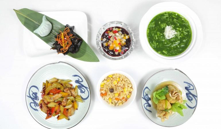 Ngan-Dinh-Restaurant-Vegetarian-Set-Menu