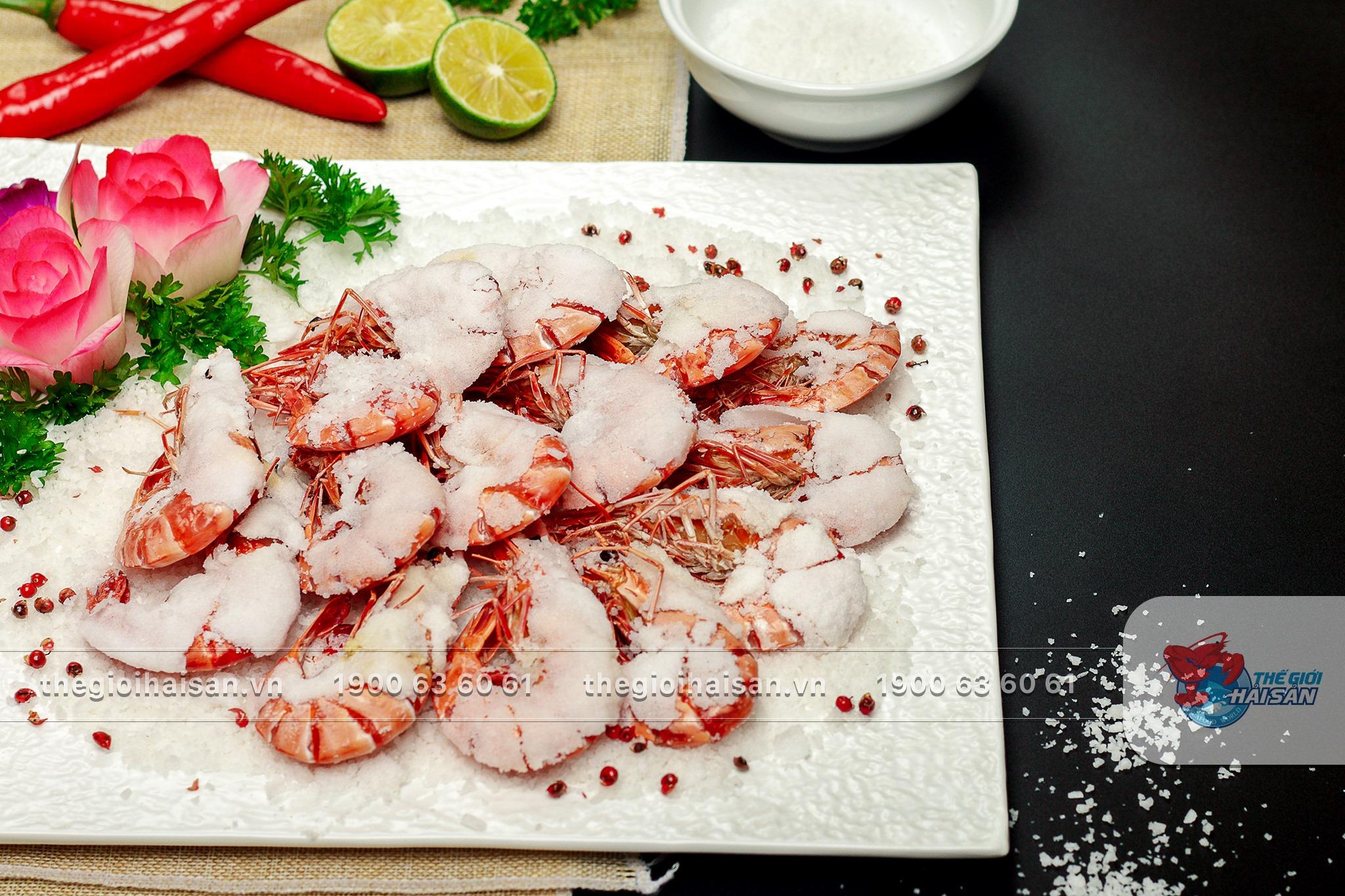 Ảnh: Món ăn hấp dẫn tại Thế giới hải sản