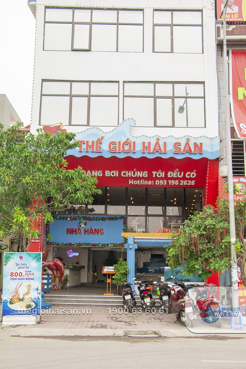 Nhà hàng Thế giới hải sản cơ sở Vũ Trọng Khánh, Hà Đông