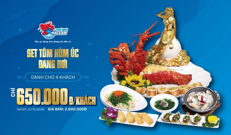 Ưu đãi menu gia đình - Thế giới hải sản