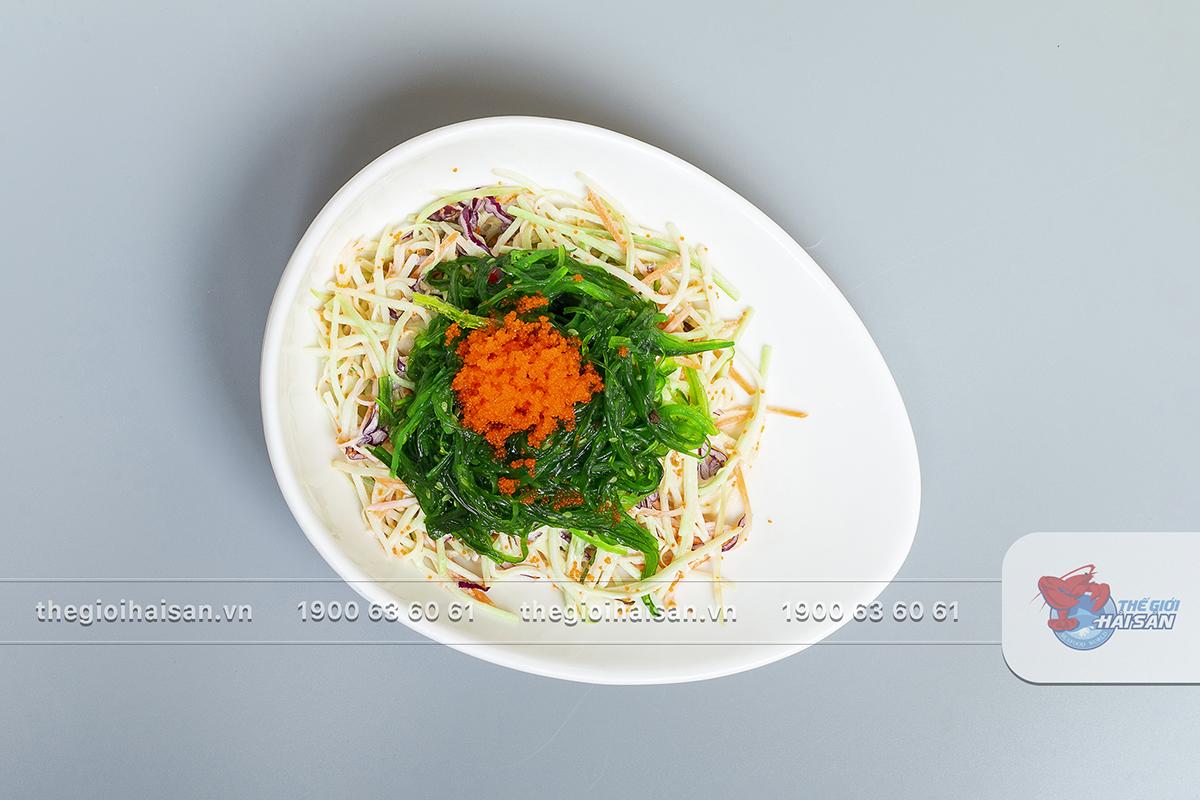 Salad rong biển trứng tôm